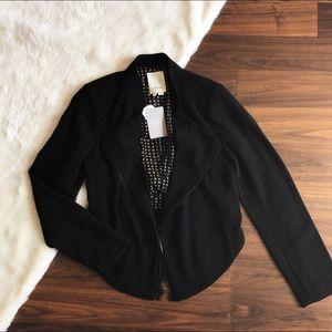 NWT Anthro Elevenses Dimmet Drape Jacket